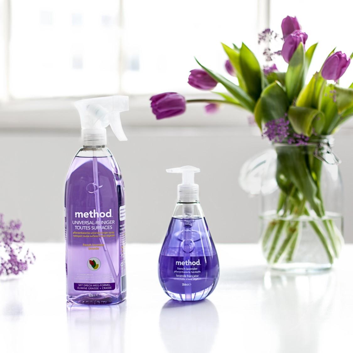 Method Yleispuhdistussuihke ja nestesaippua French Lavender