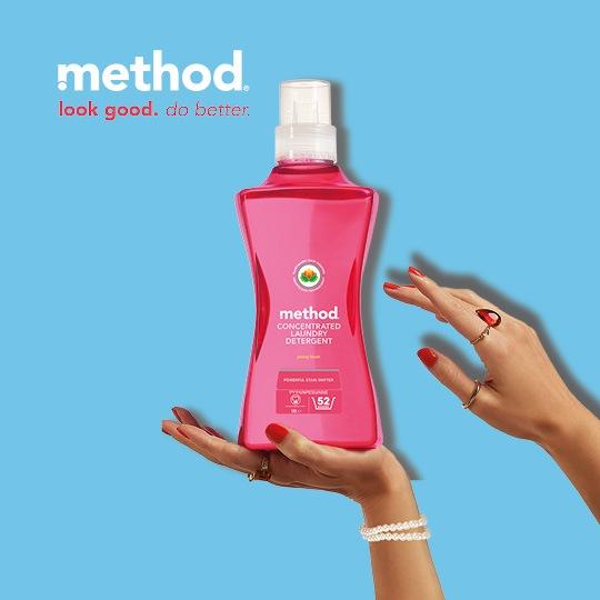 Method Pyykinpesuaine Peony Blush